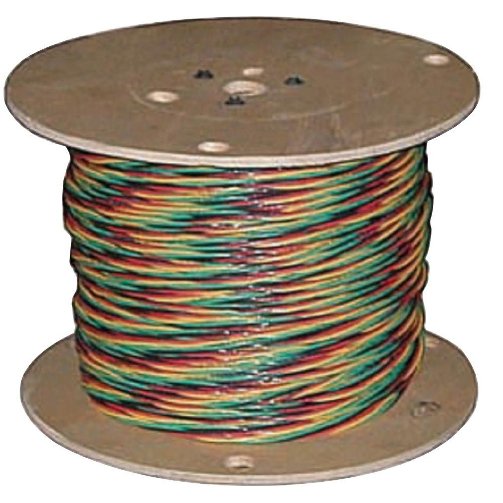 hight resolution of 12 3 solid cu w g submersible well pump wire 55173604 the home depot