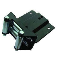 superwinch atv mounting kit for various 05 11 arctic cat and thunder cat vehicles [ 1000 x 1000 Pixel ]