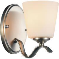 CWI Lighting Margarita 1-Light Satin Nickel Sconce-9815W5 ...