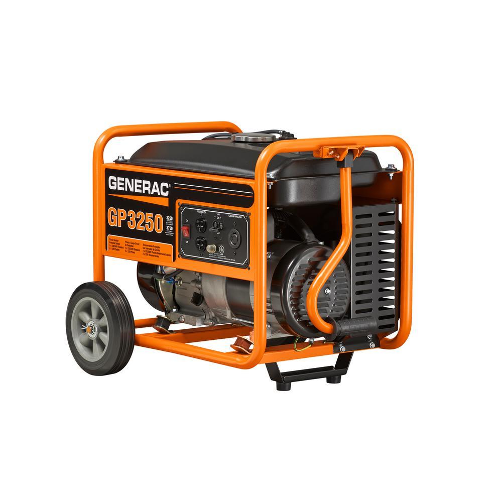 medium resolution of generac 3 250 watt gasoline powered portable generator