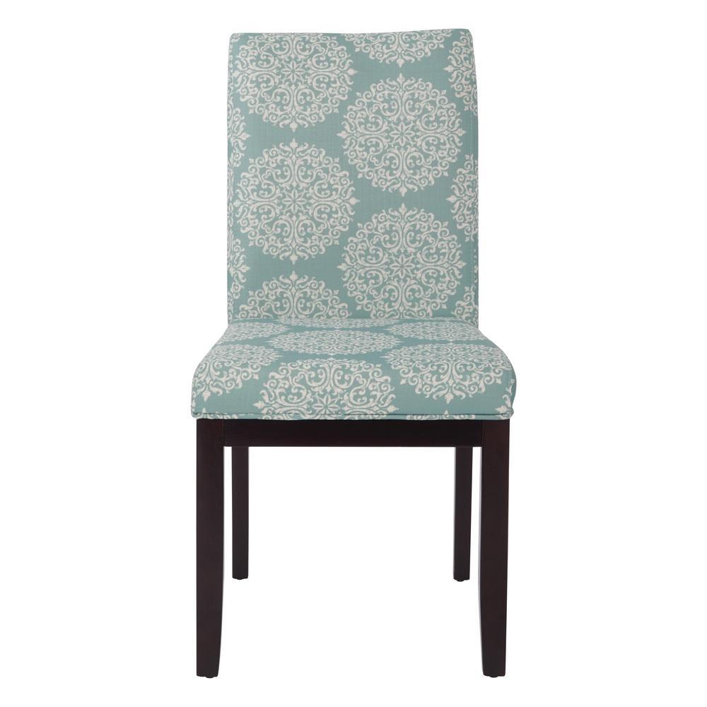 parsons chairs tufted armless chair ave six gabrielle sky fabric dakota dak g31 the home