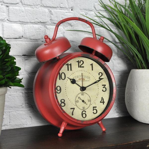 Sonic Alert Boom Analog Alarm Clock-sa-sba475ss - Home Depot