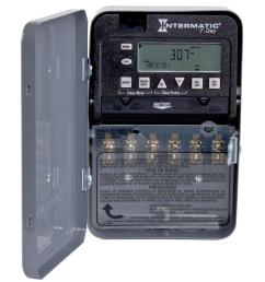 intermatic 30 7 day spst 2 circuit electronic time switch [ 1000 x 1000 Pixel ]