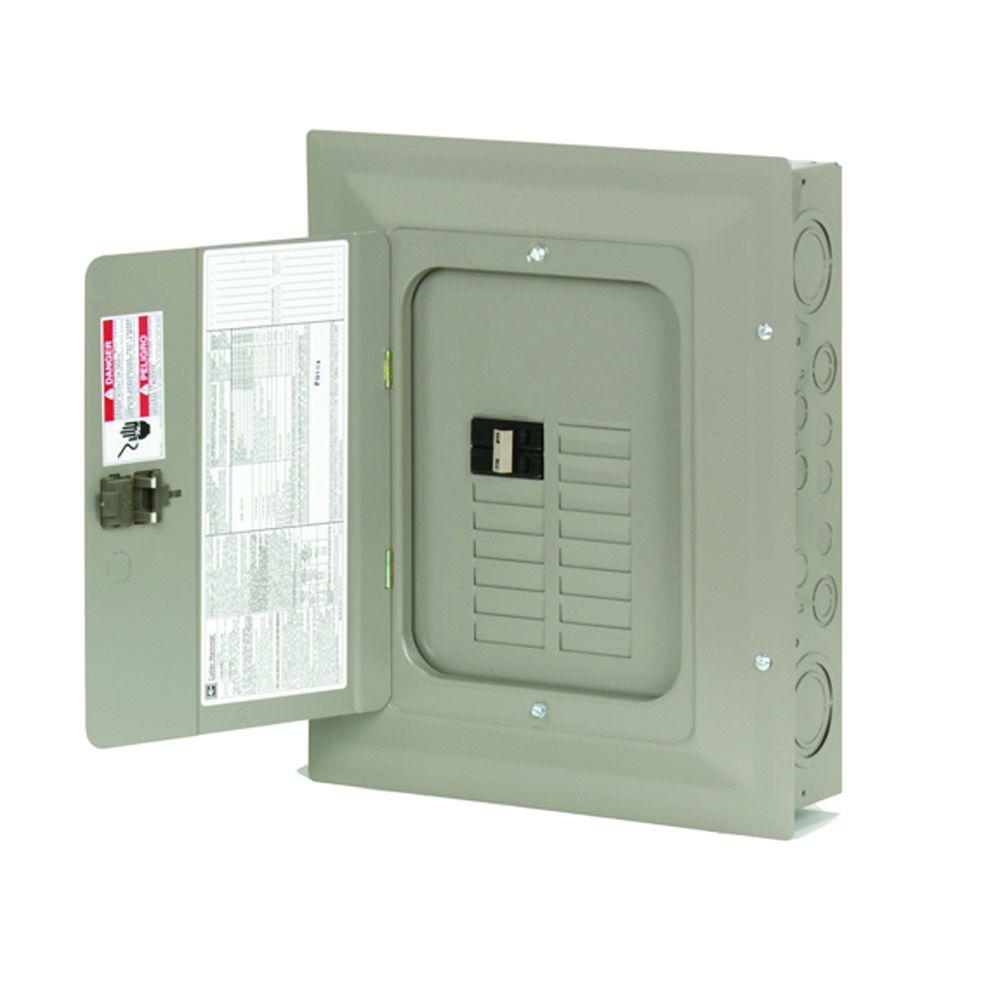 medium resolution of eaton ch 100 amp 14 space 14 circuit indoor main breaker loadcenter with cover
