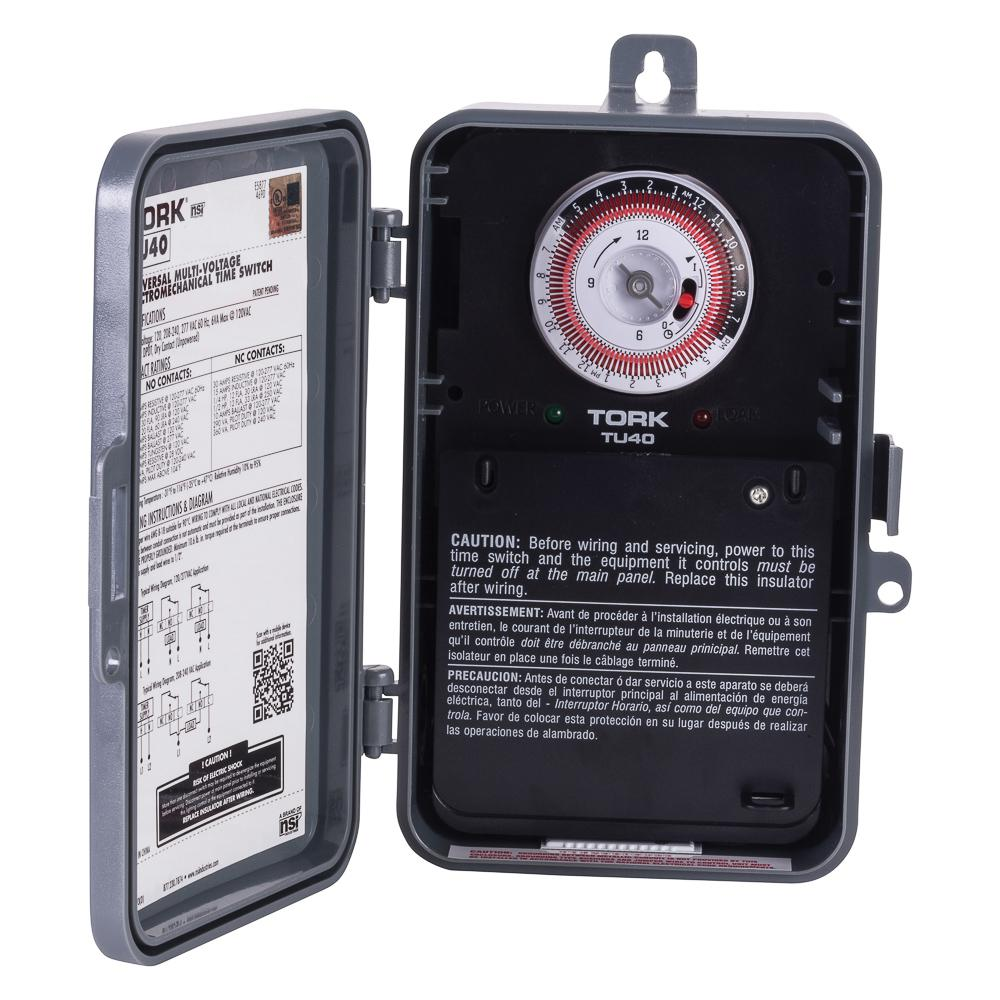 hight resolution of 40 amp universal multi voltage 24 hour mechanical time switch