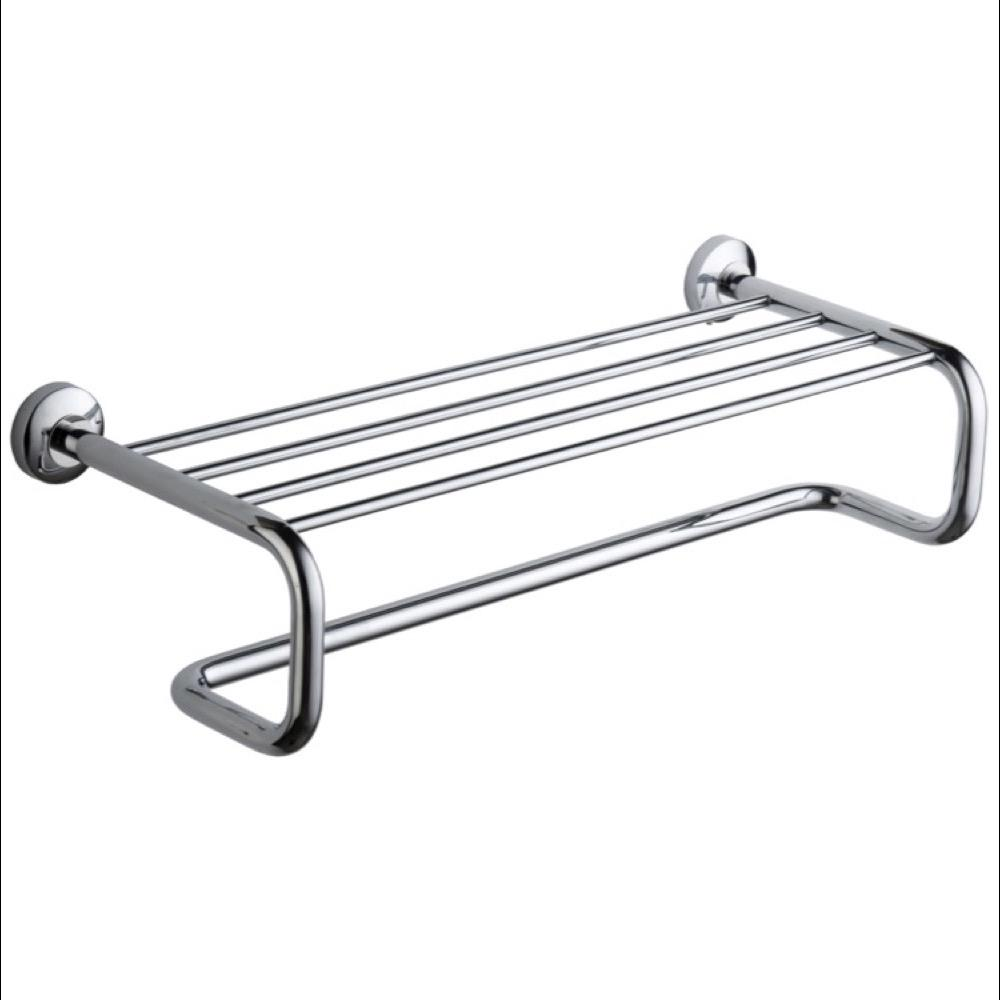 Nameeks General Hotel Wall Mounted Towel Rack in Chrome