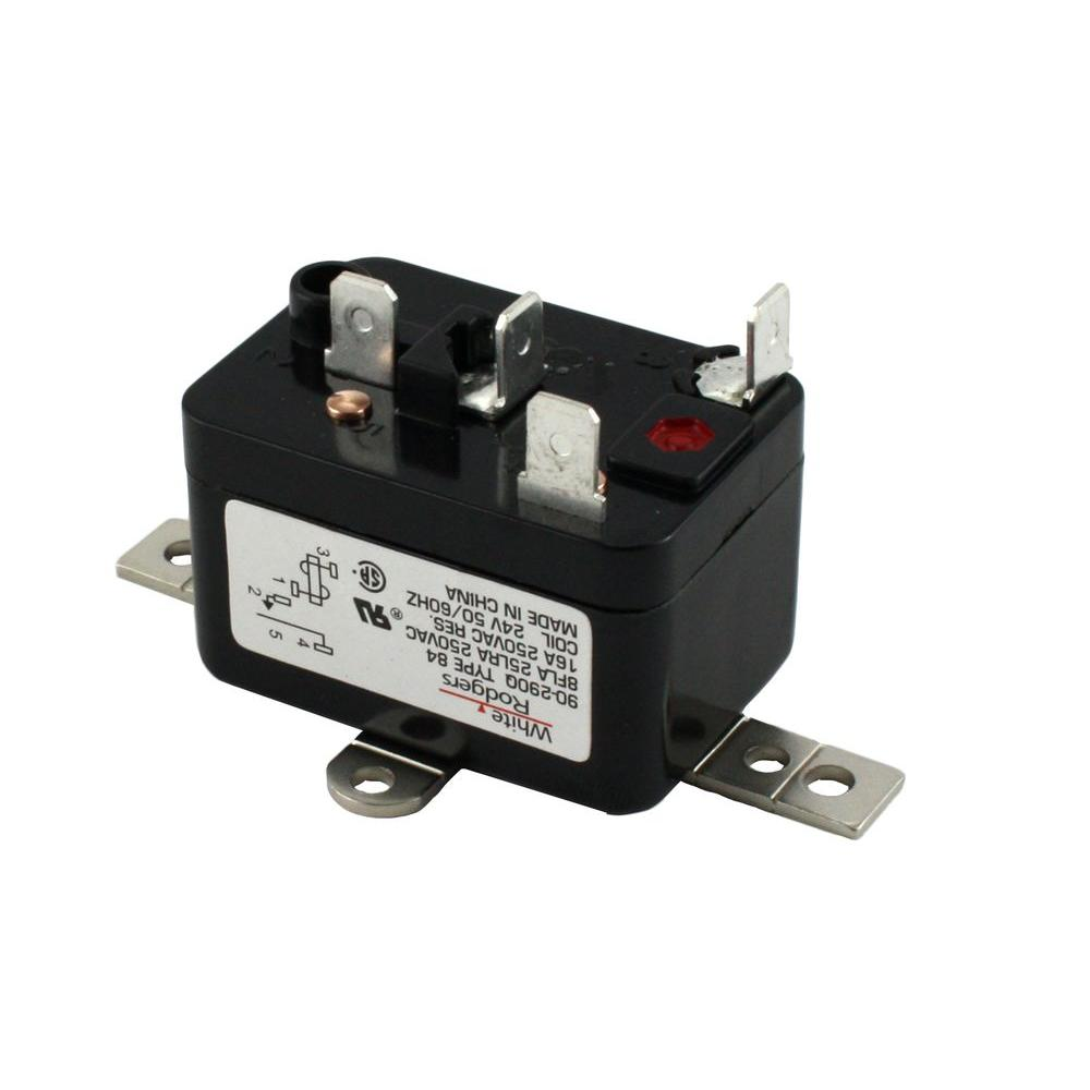 hight resolution of white rodgers 24 volt coil voltage spno rbm type relay