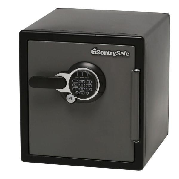 Sentrysafe 1.23 Cu. Ft. Electronic Lock Fire Safe-sfw123gtc - Home Depot