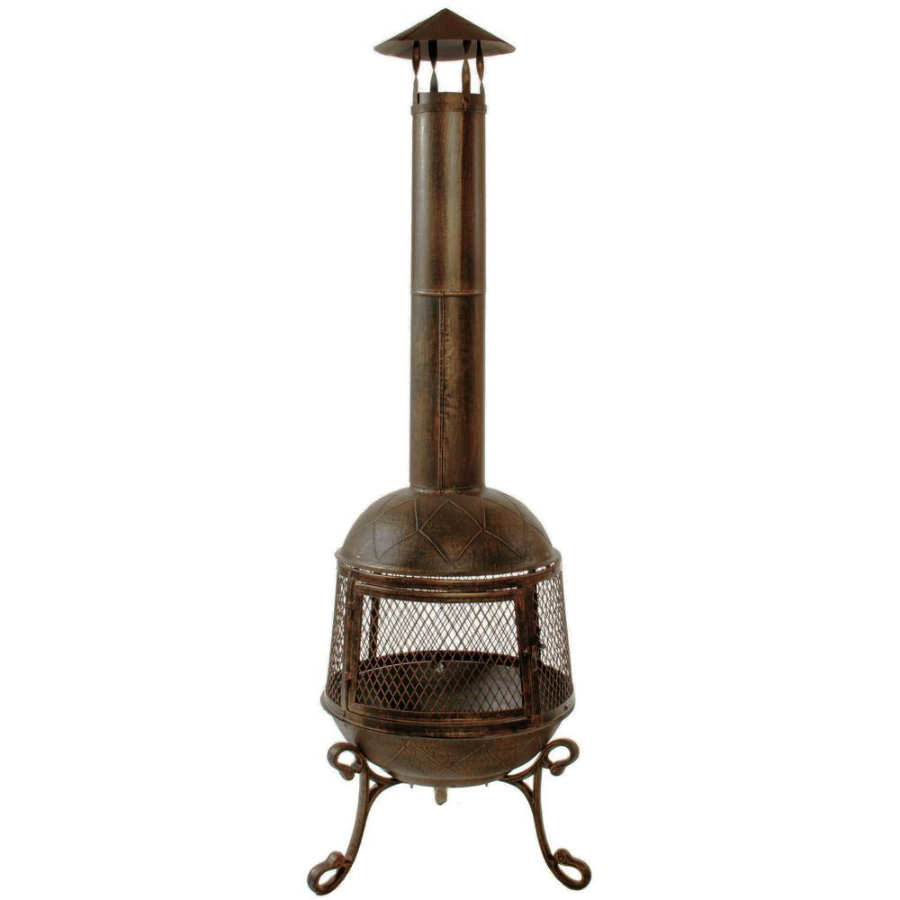 hight resolution of autumn chimenea firepit 360 degree fire view smoke draft pipe