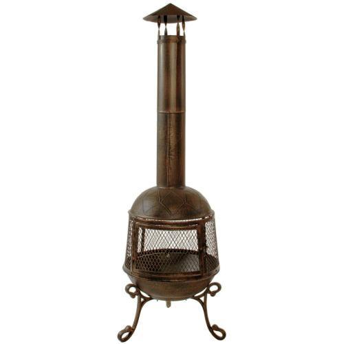 small resolution of autumn chimenea firepit 360 degree fire view smoke draft pipe