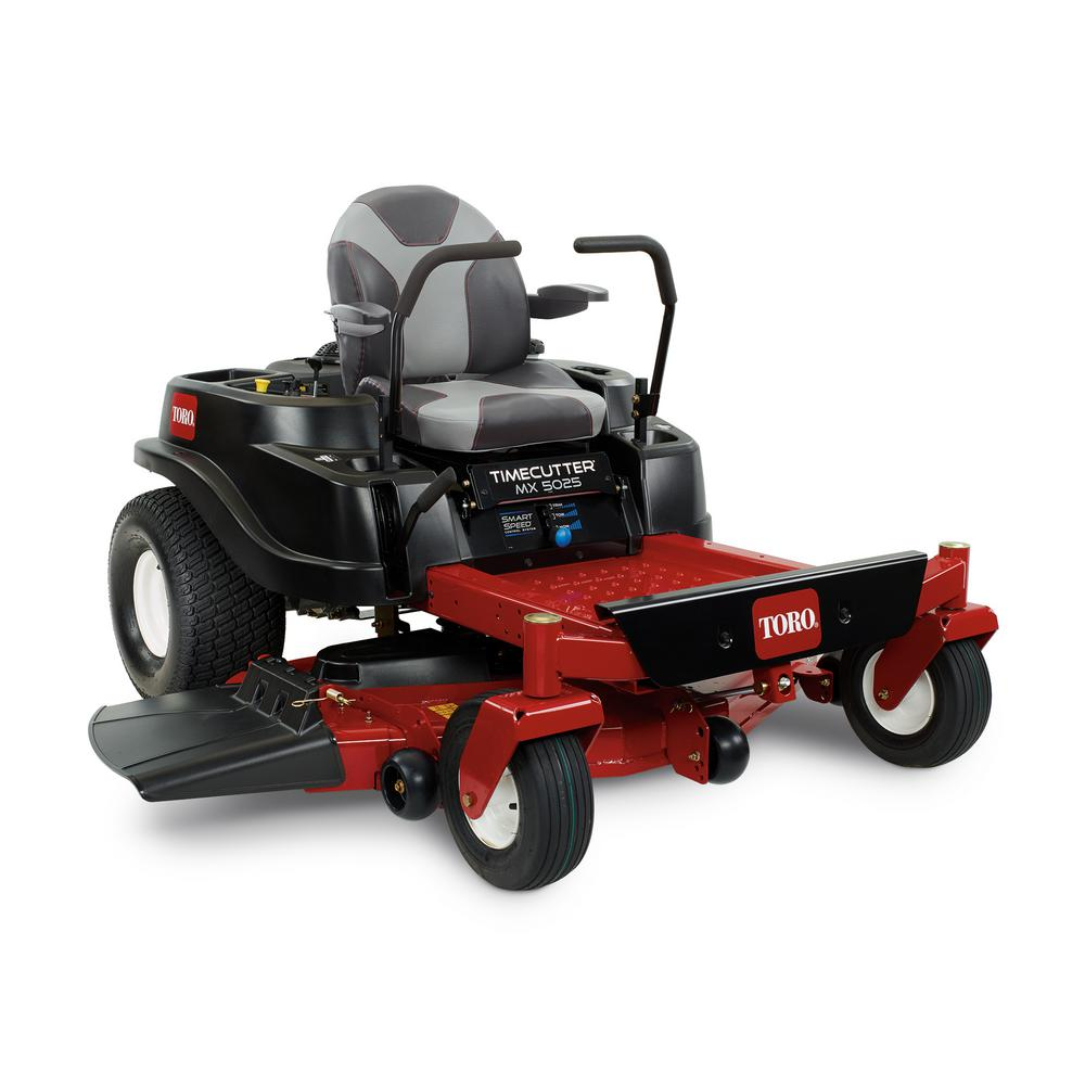 hight resolution of toro timecutter mx5025 50 in fab 23 hp kawasaki v twin gas zero turn riding mower with smart speed 74776 the home depot