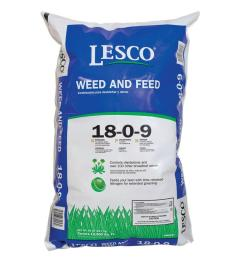 lesco 50 lb weed and feed professional fertilizer 18 0 9 [ 1000 x 1000 Pixel ]