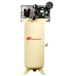 ingersoll rand type 30 reciprocating 60 gal 5 hp electric 230 volt single phase air compressor [ 1000 x 1000 Pixel ]