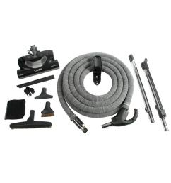 cen tec complete electric powerhead kit with direct connect hose for central vacuums [ 1000 x 1000 Pixel ]