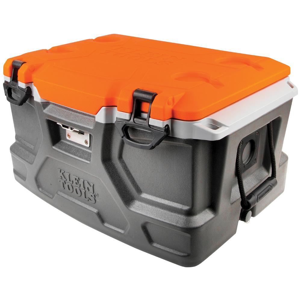 Klein Tools 48 qt Tradesman Pro Tough Box Cooler55650  The Home Depot