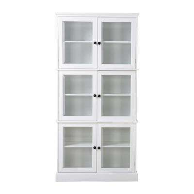 white kitchen cabinets glass doors commercial flooring options the home depot ready