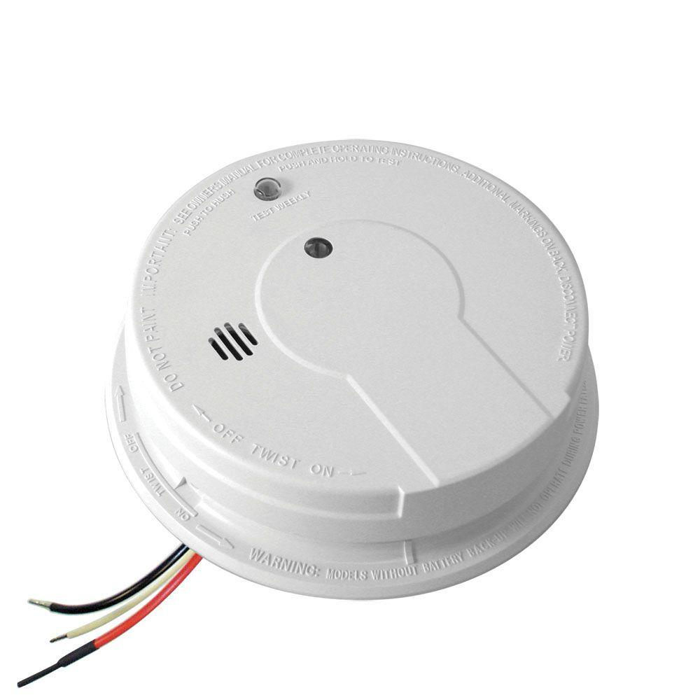medium resolution of kidde code one hardwire smoke detector with 9v battery backup