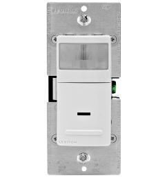 decora motion sensor in wall switch auto on 2 5 a single pole white [ 1000 x 1000 Pixel ]