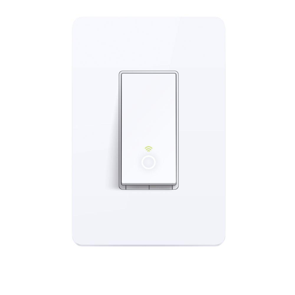 hight resolution of tp link smart wi fi light switch hs200 the home depot touch screen wall switch on light switch wiring 2 pole single throw