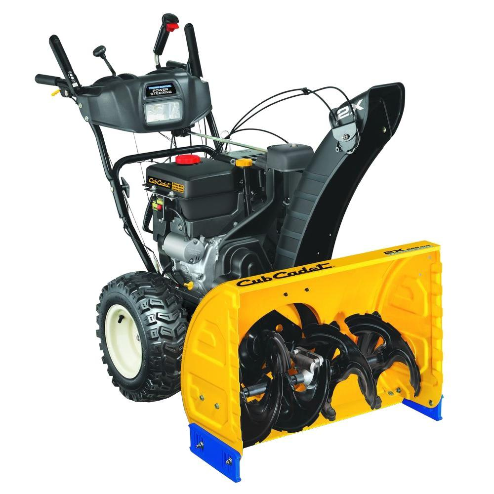 medium resolution of 277 cc two stage gas snow blower with electric start