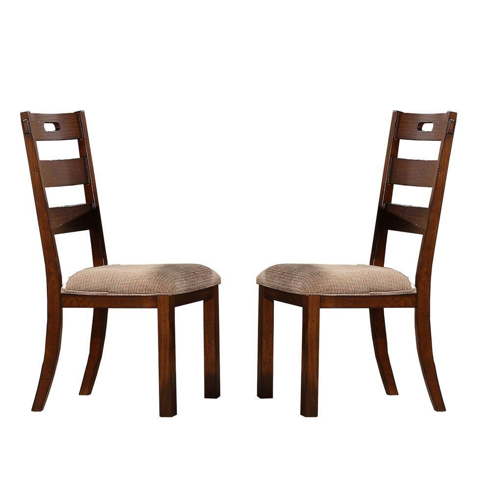 antique oak dining chairs banana rocking chair homesullivan honea vintage wood set of 2