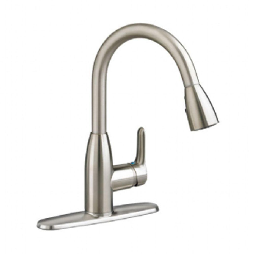 american standard quince kitchen faucet complete cabinets pfister pasadena single-handle pull-down sprayer ...