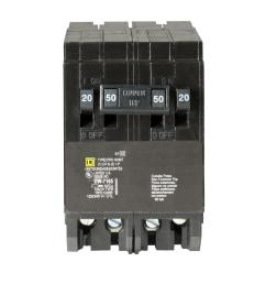 square d homeline 2 20 amp single pole 1 50 amp 2 pole quad tandem rh homedepot com socket breaker bar empty breaker sockets [ 1000 x 1000 Pixel ]