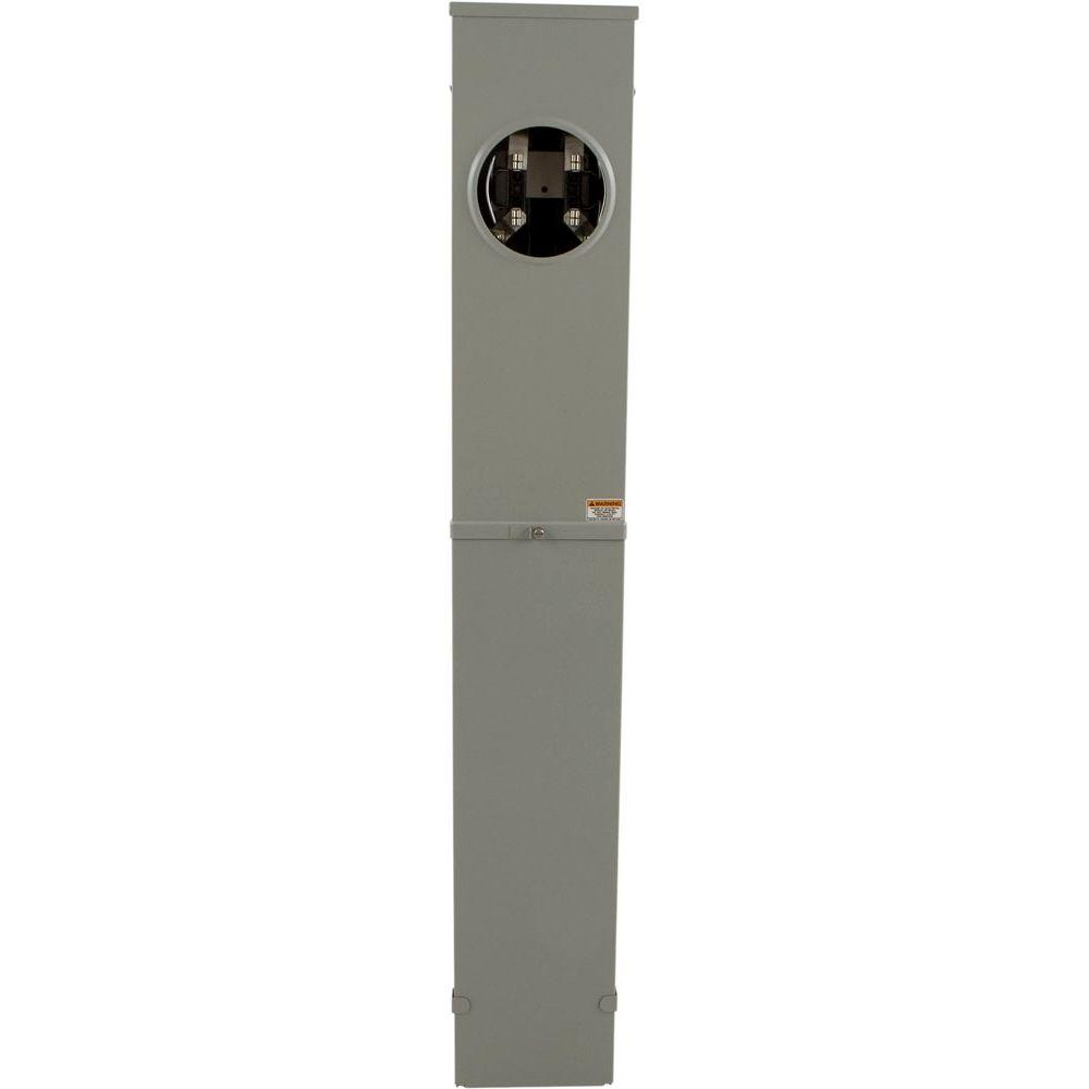 medium resolution of 200 amp ringless horn bypass underground pedestal meter socket