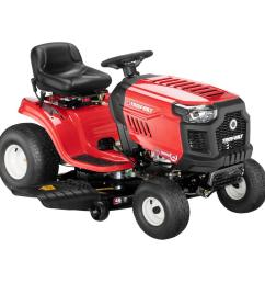 troy bilt horse 46 in 20 hp v twin automatic drive briggs  [ 1000 x 1000 Pixel ]