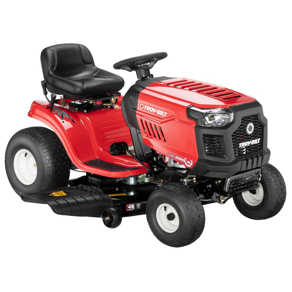 medium resolution of troy bilt horse 46 in 20 hp v twin automatic drive briggs