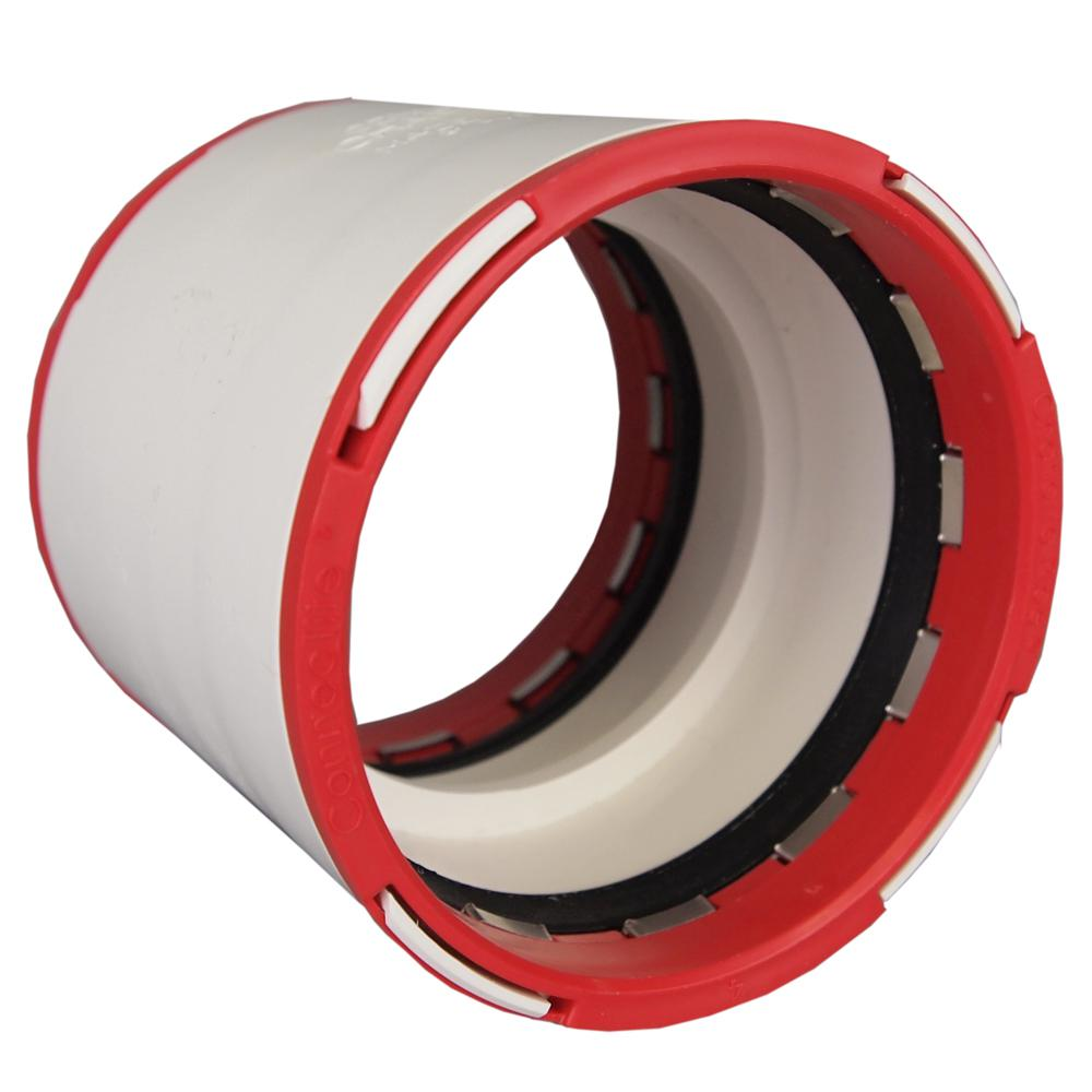 Charlotte Pipe 2 in. ConnecTite PVC DWV Coupling