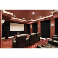 Foss QuietWall 108 sq. ft. Ivory Acoustical Noise Control ...