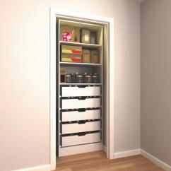 Kitchen Pantry Organizer Hotels With Full Kitchens Organizers Storage Organization The Home Depot H Melamine