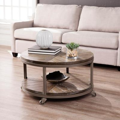 round casters coffee tables