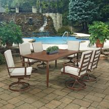 Home Styles Key West Chocolate Brown 7-piece Extruded