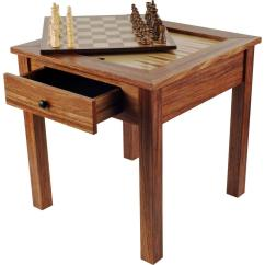 Chess Table And Chairs Chair Lifts For Homes Trademark Games Deluxe Wooden 3 In 1 Backgammon Set