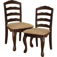 Chairs For Kitchen Cart With Granite Top Venetian Worldwide Dining Room Furniture Townsville I Dark Walnut Chair Set Of 2