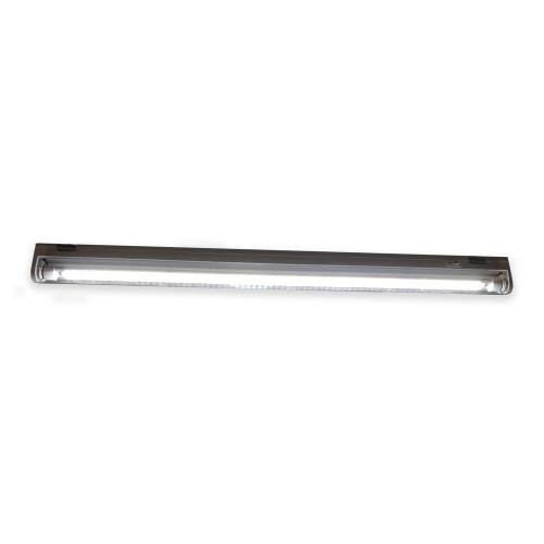 small resolution of 2 ft 18 watt white 1 lamp t5 direct replacement led grow light fixture