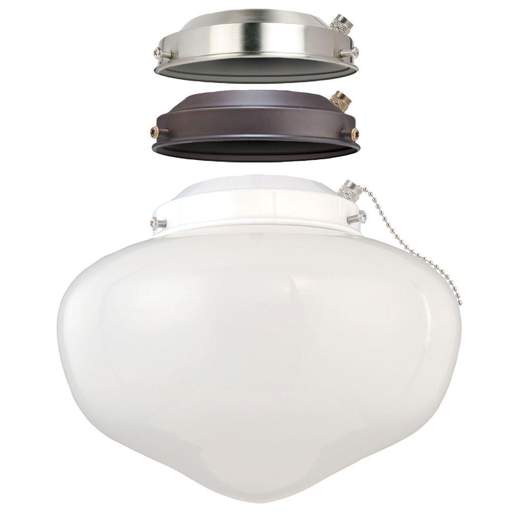 ceiling fan light kits horizon diagram soil formation westinghouse 1 schoolhouse kit with multi finish canopies