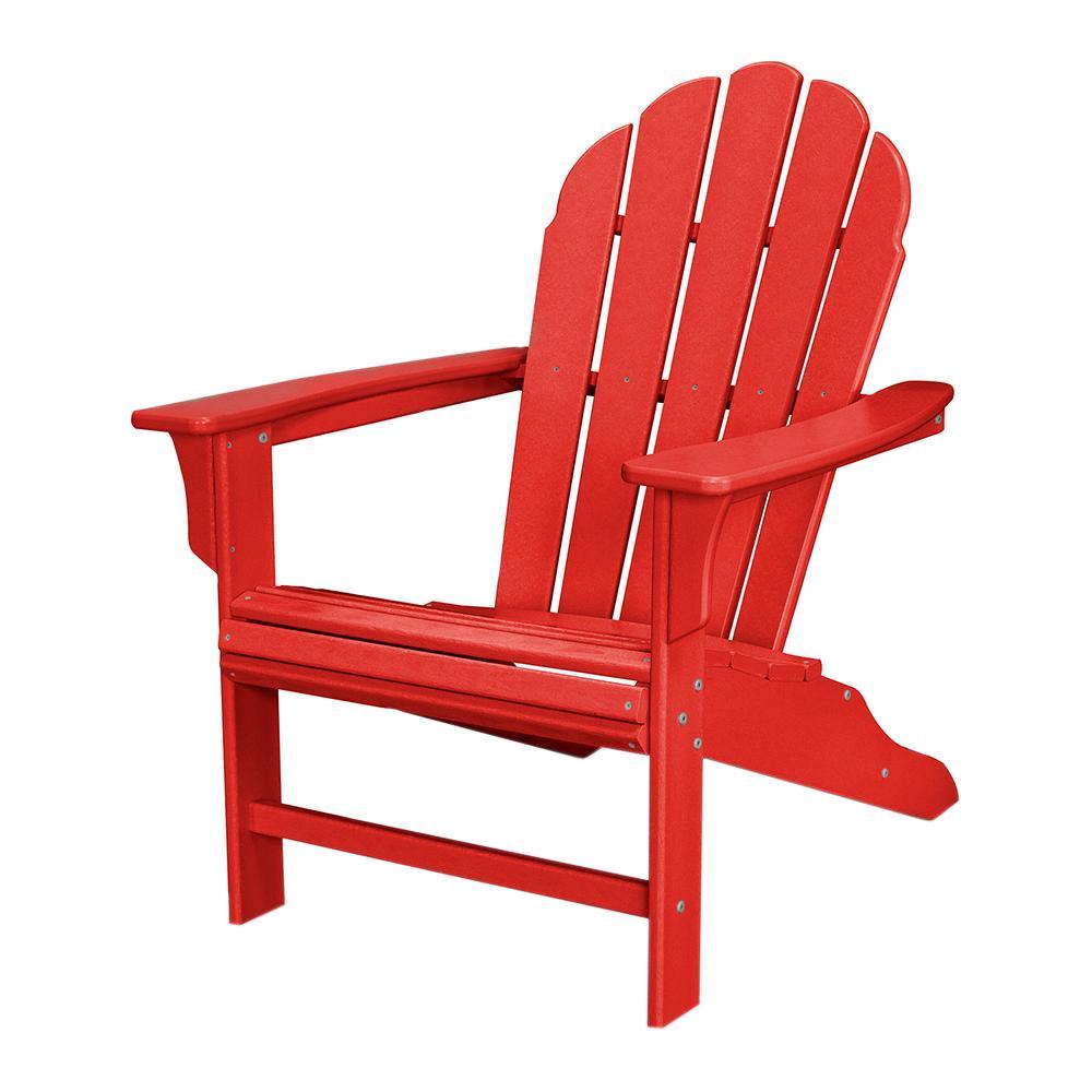 Trex Outdoor Furniture HD Sunset Red Patio Adirondack