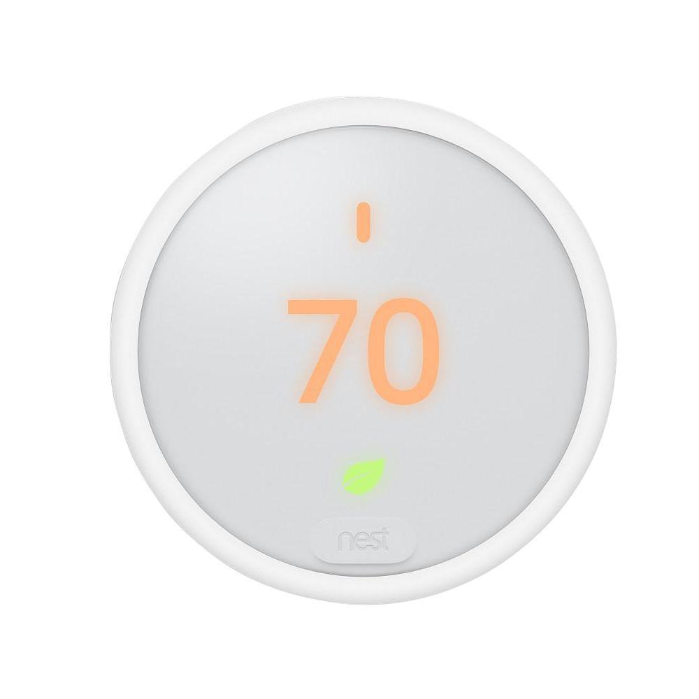 medium resolution of nest thermostat e smart wi fi programmable thermostat white