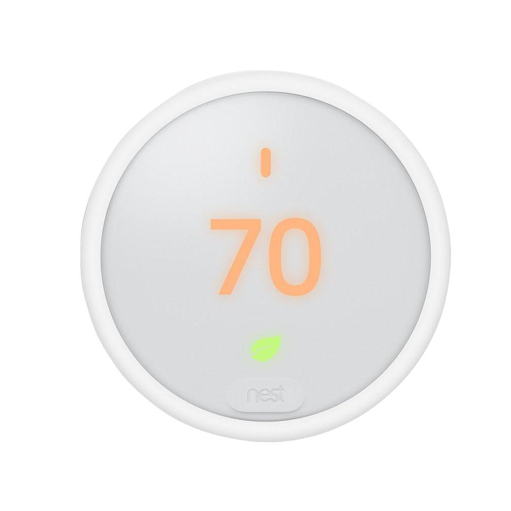 hight resolution of nest thermostat e smart wi fi programmable thermostat white