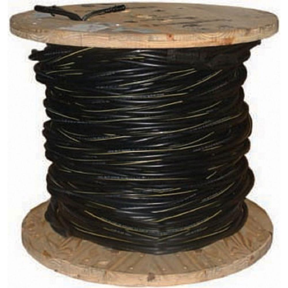 medium resolution of 2 7 black stranded al poly triplex service drop cable 55411602 the home depot