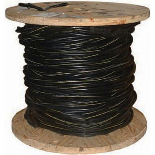 small resolution of 2 7 black stranded al poly triplex service drop cable 55411602 the home depot