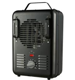 1500 watt milkhouse utility electric portable heater with thermostat black [ 1000 x 1000 Pixel ]