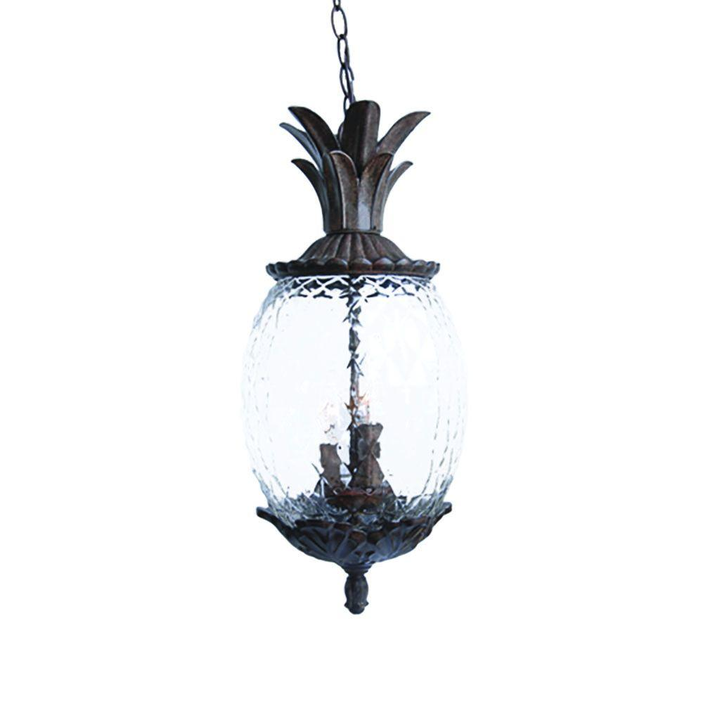 Acclaim Lighting Lanai Collection 3-Light Black Coral