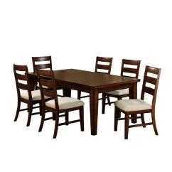 Antique Oak Dining Chairs Table High Chair Babies R Us Venetian Worldwide Priscilla I 7 Piece Set