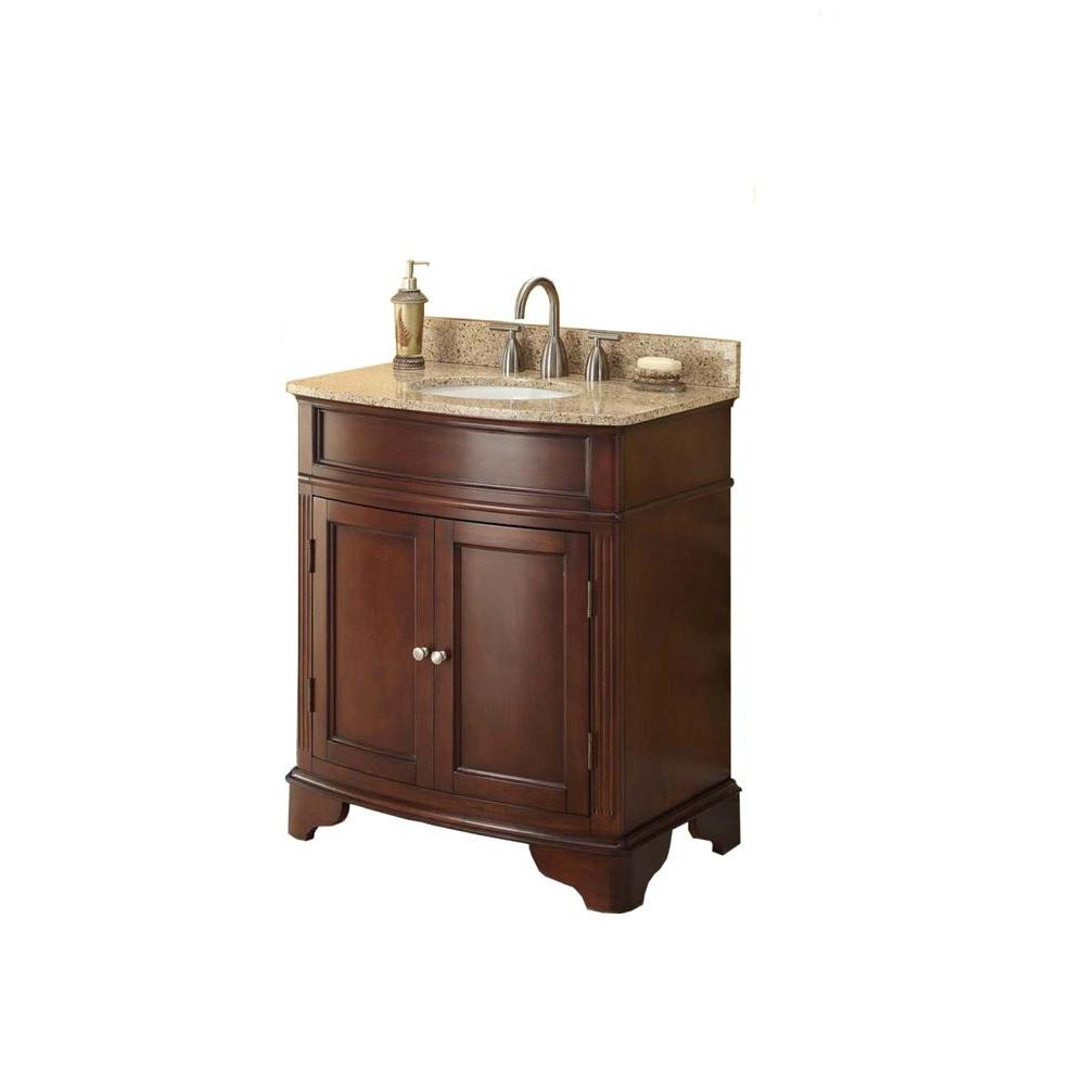 30 Inch Vanities Bathroom Vanities Bath The Home Depot
