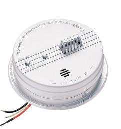 hardwired inter connectable 120 volt auxiliary heat detector 135 degree with battery backup [ 1000 x 1000 Pixel ]