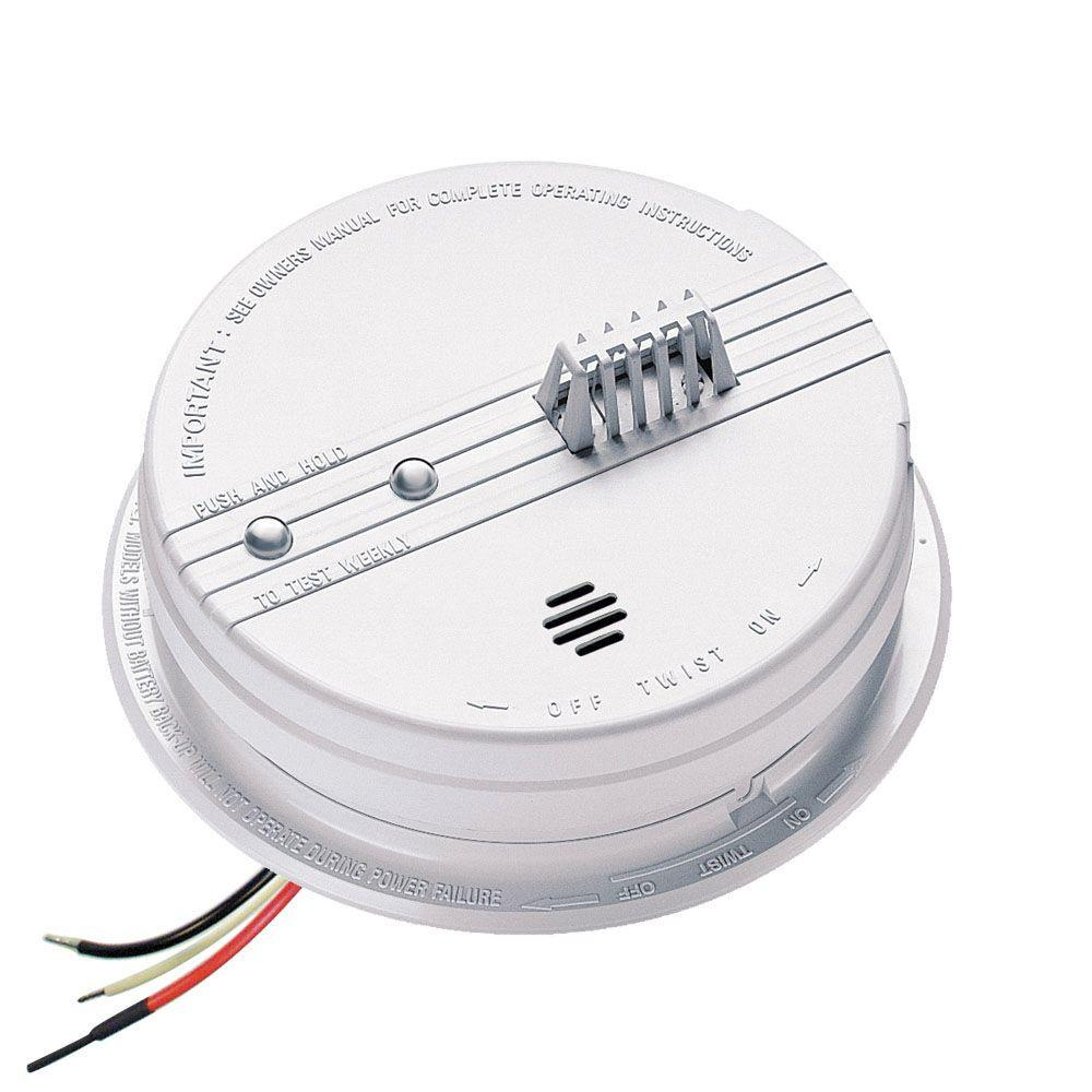 hight resolution of hardwired inter connectable 120 volt auxiliary heat detector 135 degree with battery backup